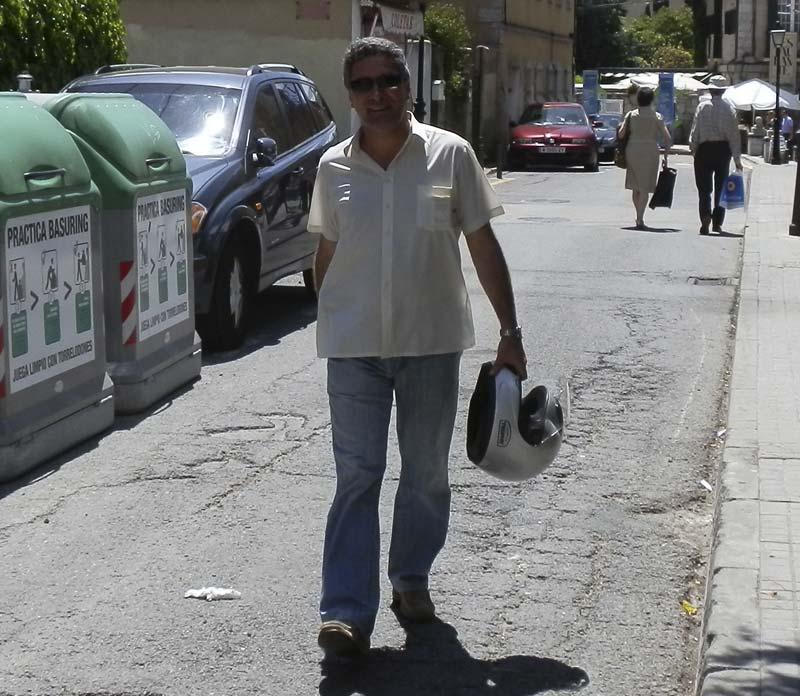 Gonzalo Santamaría, Concejal de Seguridad de Torrelodones (Foto de archivo)