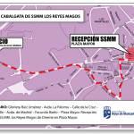 Recorrido Cabalgata de Reyes 2013 de Hoyo de Manzanares
