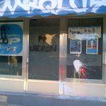 Nuevo acto vandálico contra la sede del PP de Torrelodones el 12-2-2013