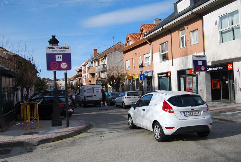 Peatonalización Calle Real Torrelodones