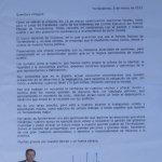 Carta de Javier Laorden a los Afiliados al PP de Torrelodones