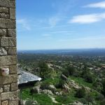 Vistas desde El Canto del Pico, foto del 22-04-2013, durante la visita de inspección.