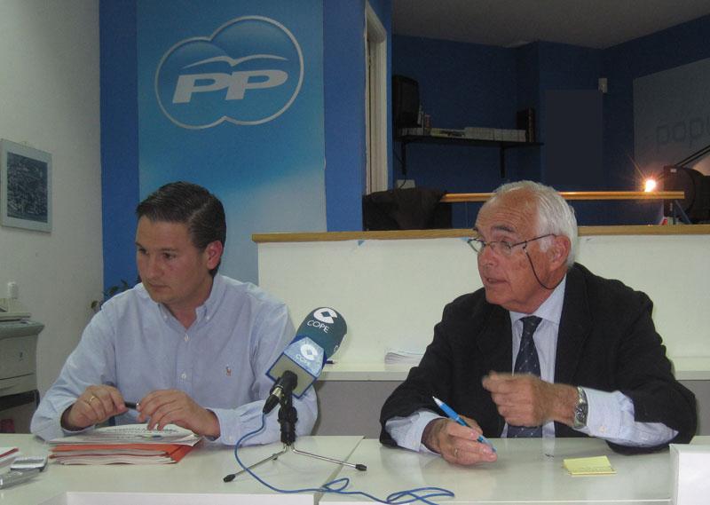 Rueda de Prensa del PP (Foto de Archivo)
