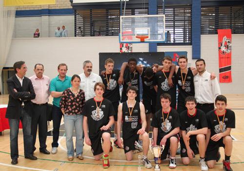Cadetes de Espacio Torrelodones - Tercer clasificado Final Four - Torrelodones 2013 (Foto: FBM.es)