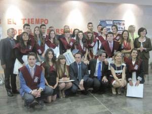 Graduados de la I Promoción de Bachillerato Colegio San Ignacio de Loyola (2012-2013)