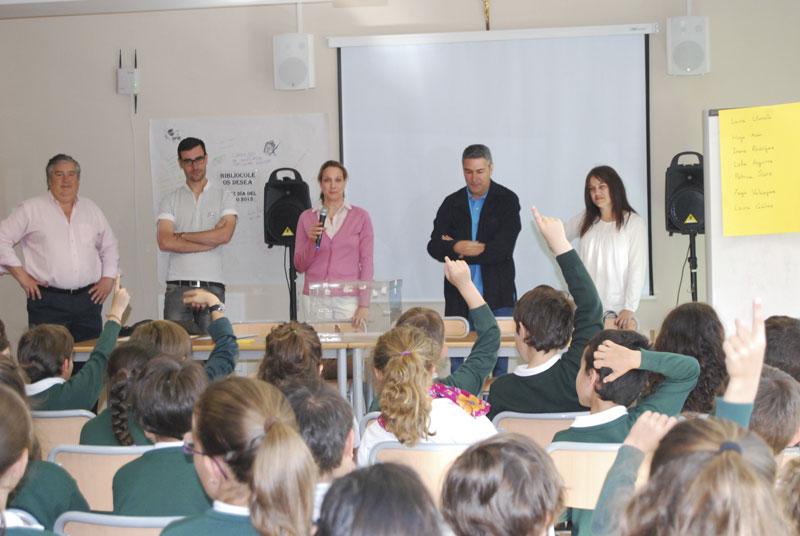Simulacro de elecciones municipales de los niños de 3º de Primaria del Colegio San Ignacio de Torrelodones