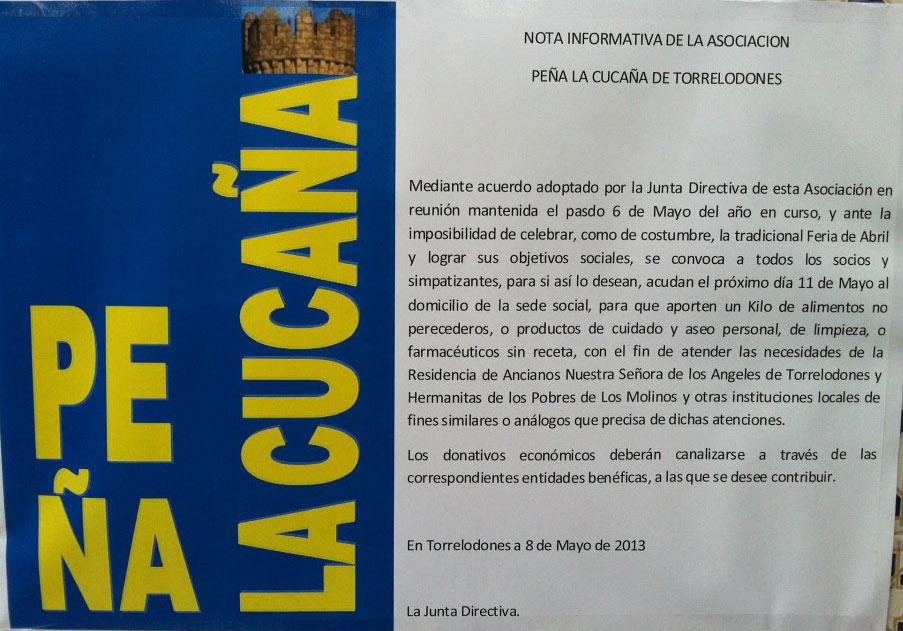 Operación Kilo de la Peña La Cucaña -11 de mayo 2013-
