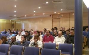 Policías en el Pleno del Ayuntamiento de Torrelodones 20-5-2013