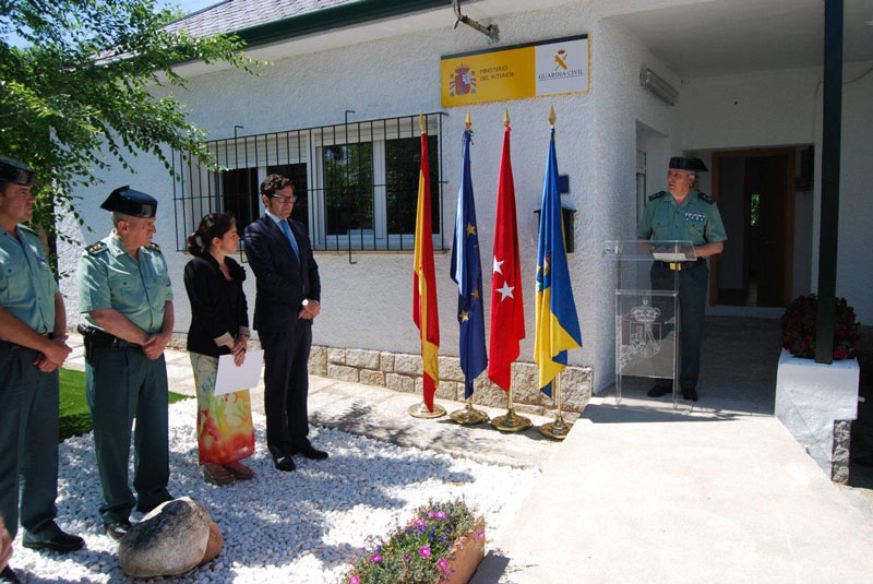 Inauguración nuevas dependencias de la Guardia Civil en Torrelodones