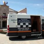 Nueva unidad móvil policial de Galapagar