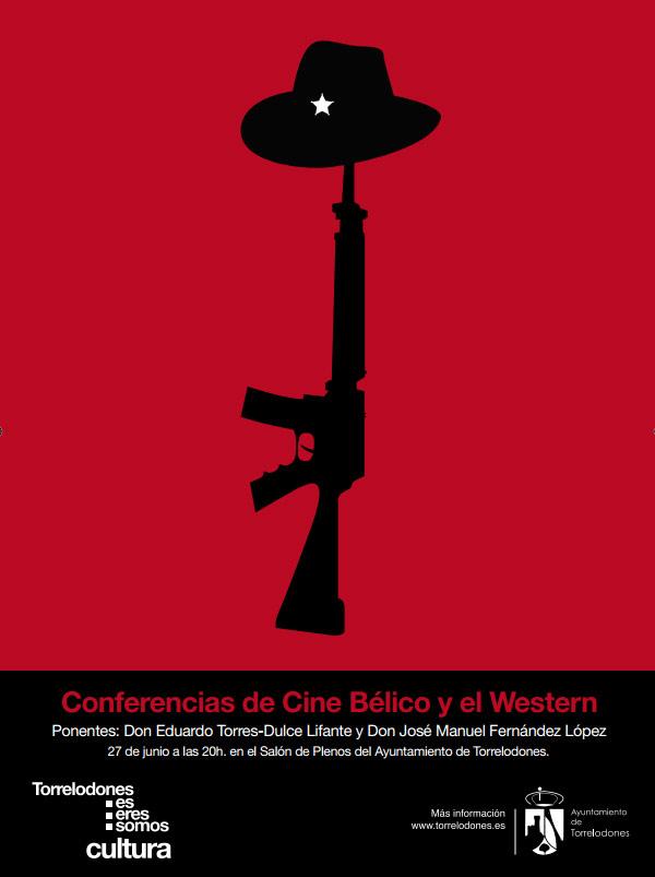 Conferencia sobre Cine Bélico y Western, en Torrelodones
