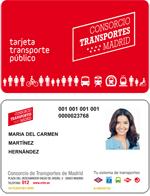 Nueva Tarjeta de Transporte Público