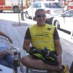 Rodrigo, uno de los clientes que colaboró para controlar el fuego