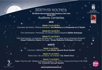 """Programa """"Buenas Noches"""" 2013 de Hoyo de Manzanares"""