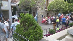 Protesta de Trabajadores Municipales contra VxT antes del Pleno del 17-7-2013