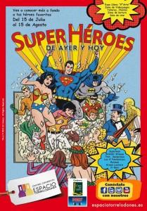 """Exposición """"Superhéroes de ayer y hoy"""" en el centro comercial Espacio Torrelodones"""
