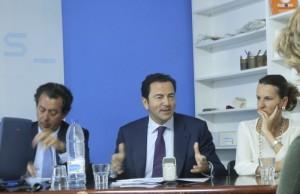 Foto de Archivo: Pablo Cavero en la sede del PP de Torrelodones 5/2013
