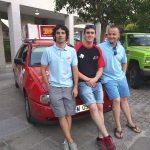 José María Fernández ,Borja Fernández y Juan Carlos Sevillano - Mauritania Rally 2013