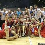 España, Campeona en el U16 European Championship Men 2013 (Foto: FIBA Europe/ Ciamillo Castoria)