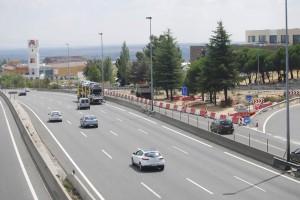 Comienzan las obras de construcción de la rotonda de acceso a Los Bomberos, en Torrelodones.