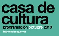 Programación Cultural octubre 2013 en Torrelodones