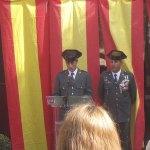 El guardia civil Francisco, dedica unas sentidas palabras a su «padre y compañero»
