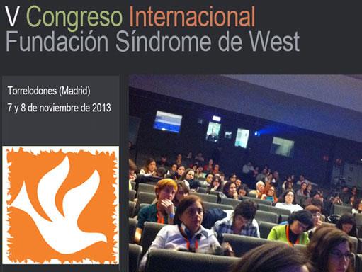V Congreso Internacional Fundación Sindrome de West - Torrelodones, Noviembre 2013
