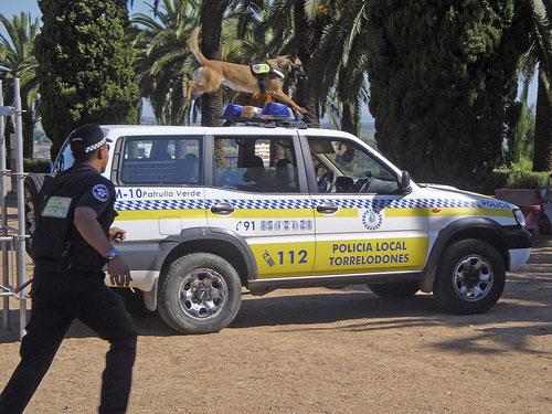 Demostración Unidad Canina de la Policía de Torrelodones