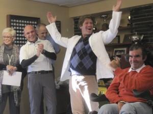 """Alberto Bergaz Hoyos, ganador de la Clasificación  Scratch I Trofeo de Golf """"Anda Ya"""""""
