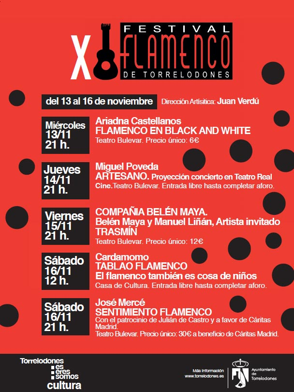 Se presentó oficialmente el X Festival de Flamenco de Torrelodones