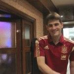 Iker Casillas en Las Tapas del Pesca