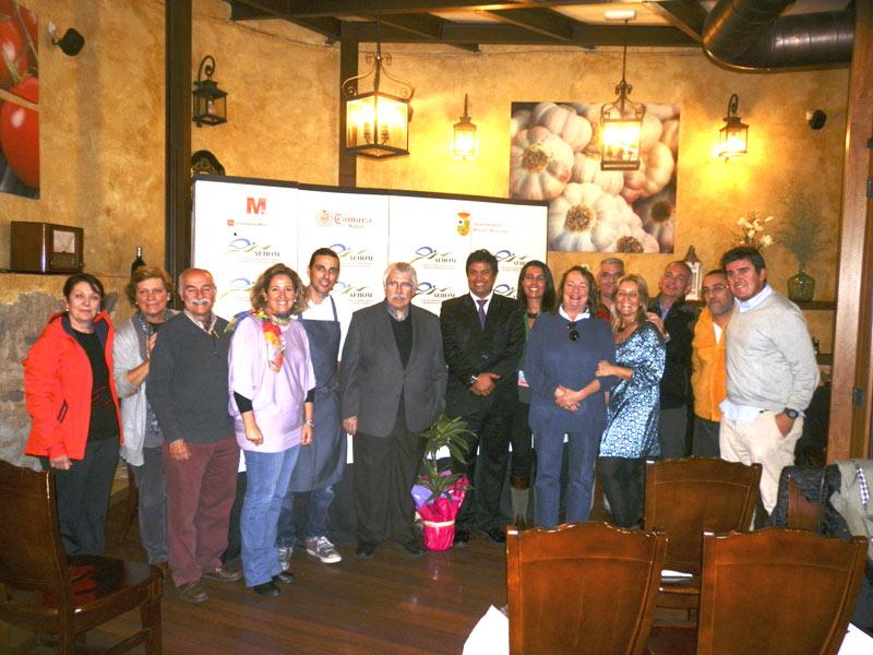 Curso Monográfico Mundo Setas, impartido el 4-11-2013 por Salvador Gallego en Hoyo de Manzanares