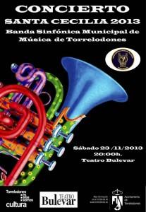 Concierto Banda Sinfónica Municipal de Música - Santa Cecilia - Torrelodones, 2013