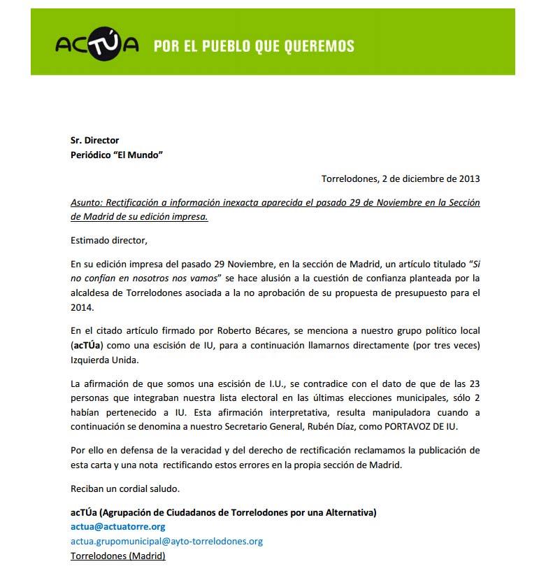 Nota de Prensa de VxT