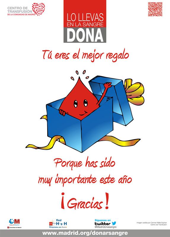 Campaña de donación de sangre, en Torrelodones, 23 de diciembre 2013