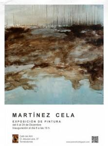Exposición de Martínez Cela en Café del Atril de Torrelodones
