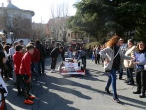 II Carrera de Autos Locos organizada por la Peña El Carrito de Torrelodones