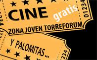 Cine y Palomitas en Zona Joven Torreforum