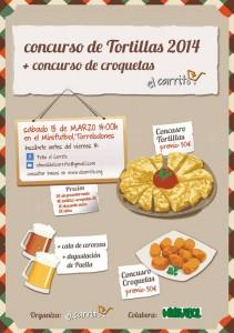 """II Concurso Gastronómico de la Peña El Carrito en las instalaciones del """"Minifútbol"""""""
