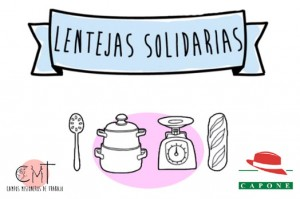 """""""Lentejas solidarias"""" en favor de la ONG Campos Misioneros de Trabajo, en el restaurante Capone de Torrelodones"""