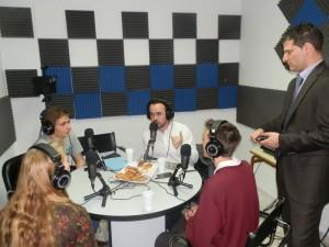 Emitiendo desde Radio San Ignacio