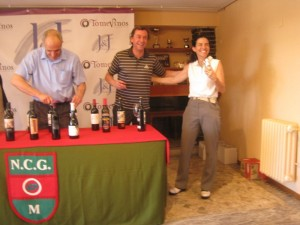 I Torneo de Golf Tomevinos Európolis, organizado por Jose I. García de Leániz en el Nuevo Club de Golf de Las Matas