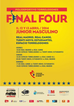 Fase Final de Junior masculino. Torrelodones, abril 2014