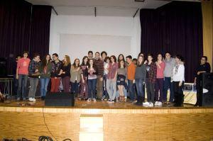 "Grupo ""Teatraula"" del IES Diego Velázquez de Torrelodones  (Foto: gentileza IES Isabel de Castilla)"