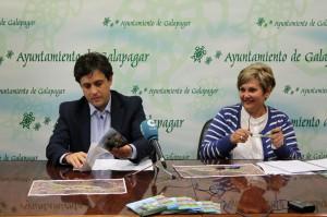 El alcalde de Galapagar presenta el proyecto de la zona comercial y de ocio de La Peraleda