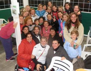 Seis jugadoras celebraron su cumpleaños en el Minifútbol de Torrelodones
