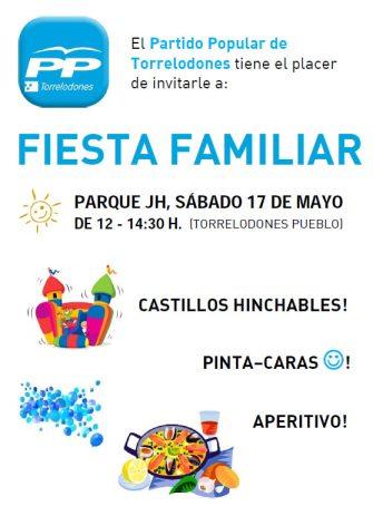 Fiesta Familiar del Partido Popular de Torrelodones Sábado 17 de mayo 2014