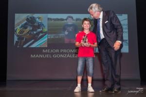 "El piloto de motos Manuel González ""Manugasss"" (Foto: juanangelTC.com)"