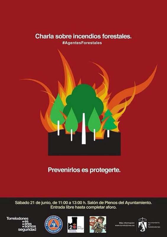 Conferencia sobre Prevención de Incendios Forestales (Torrelodones, 21 de junio 2014)