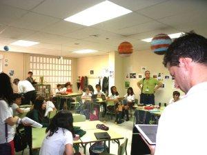 40 docentes de diferentes colegios españoles acudieron a conocer el San Ignacio iPad Mobile Learning
